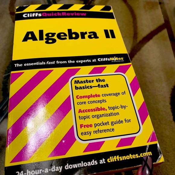 Algebra II Cliffnotes